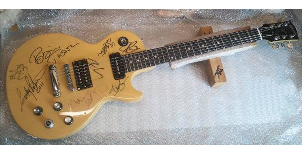 CUSTOMISATION Vernissage Gibson Robot Yellow