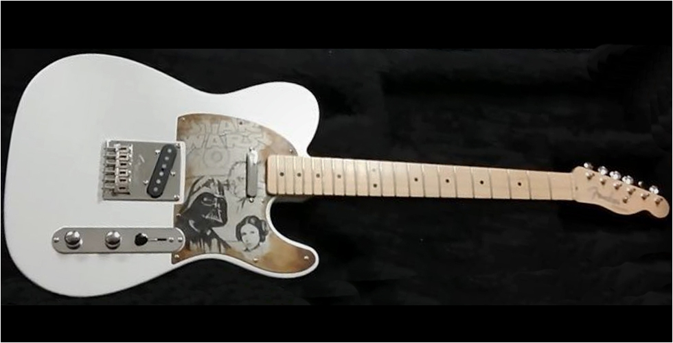 CUSTOMISATION Fender Part' caster Star Wars