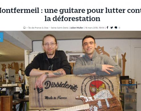 Photo sur 16/03/2018 Article Le Parisien
